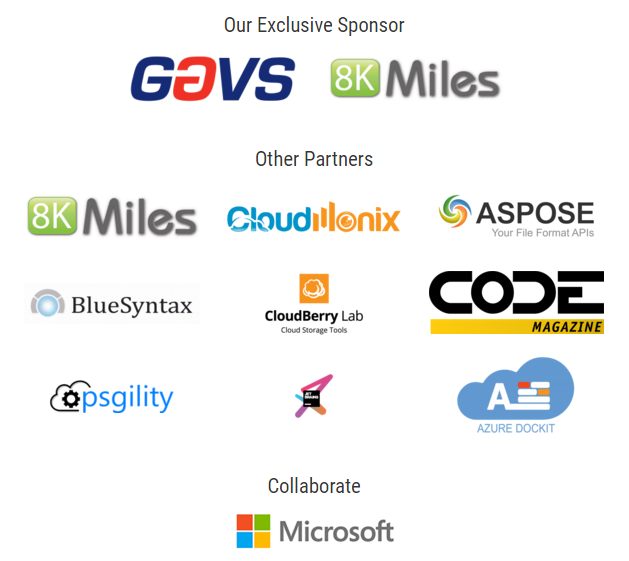 Azure Bootcamp Sponsors